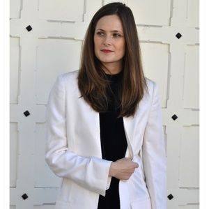 Stella McCartney White Statement Blazer